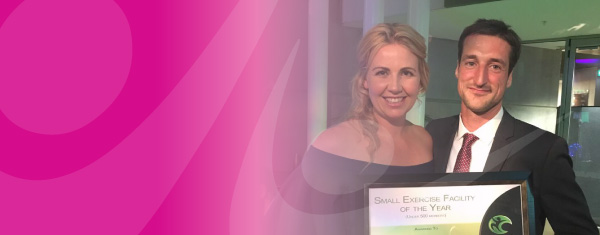 "Winner, ""Small Exercise Facility of the Year"" 2016 New Zealand Exercise Industry Awards"